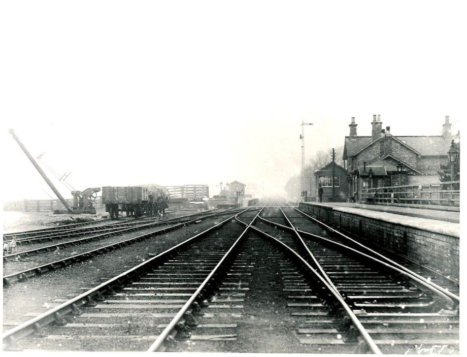Potto Station - Taken the same day looking West
